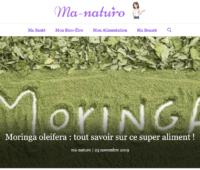 Mon intervention sur le moringa avec le site ma-naturo.com