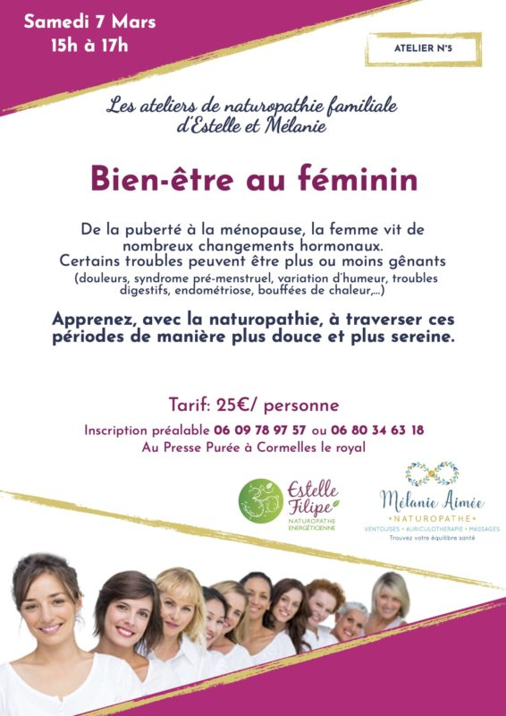 atelier naturopathie: Bien-être au féminin