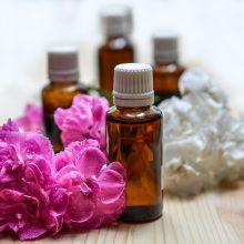 flacons fleurs huiles essentielles
